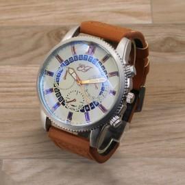 Diamond Blue  Glass Men's Quartz Outdoor Fashion Wrist Watches 217