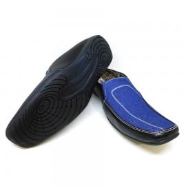 Blue and Black Classic Men's Flip Flops Casual Slipper 54