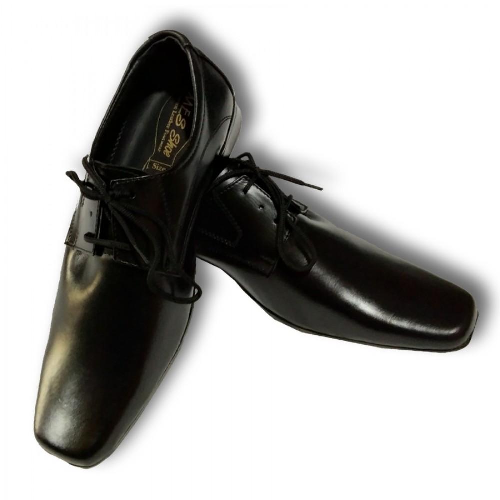 Box Black Formal Genuine Leather Dress Business Men's Oxfords Shoes 27