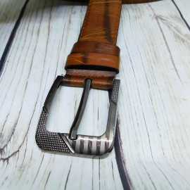 Brown Men's  Fashion Leather Belts 17