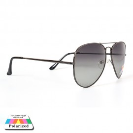 Fade Metal Polarized Luxury Goggles Sunglasses With Purchase 94