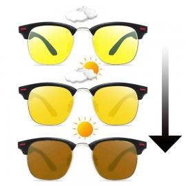 Night Photochromic Polarized  Classic Sunglasses 103