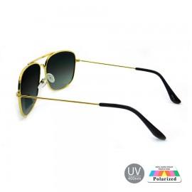 Gold Black Polarized Boys Girls Goggles Sunglasses 82