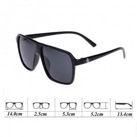Fashion Black Red Goggles Unisex UV400 Sunglasses 105