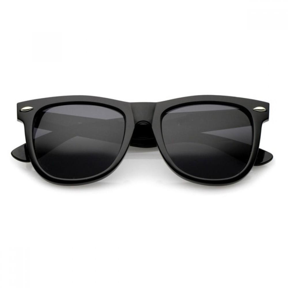 Black Unisex Retro Classic Vintage Aviator Sunglasses 84