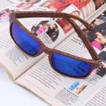 Blue Unisex Retro Classic Vintage Aviator Sunglasses  80