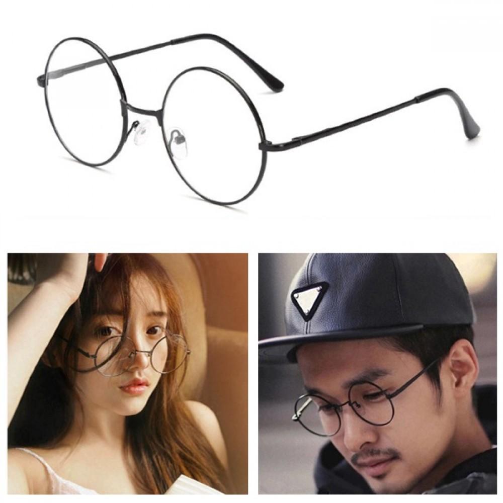 Vintage mode Clear Plain Round Lens Eye Glasses 29