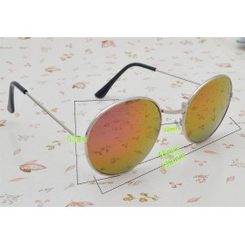 Mirror lens Round Glasses Read Sunglasses 12