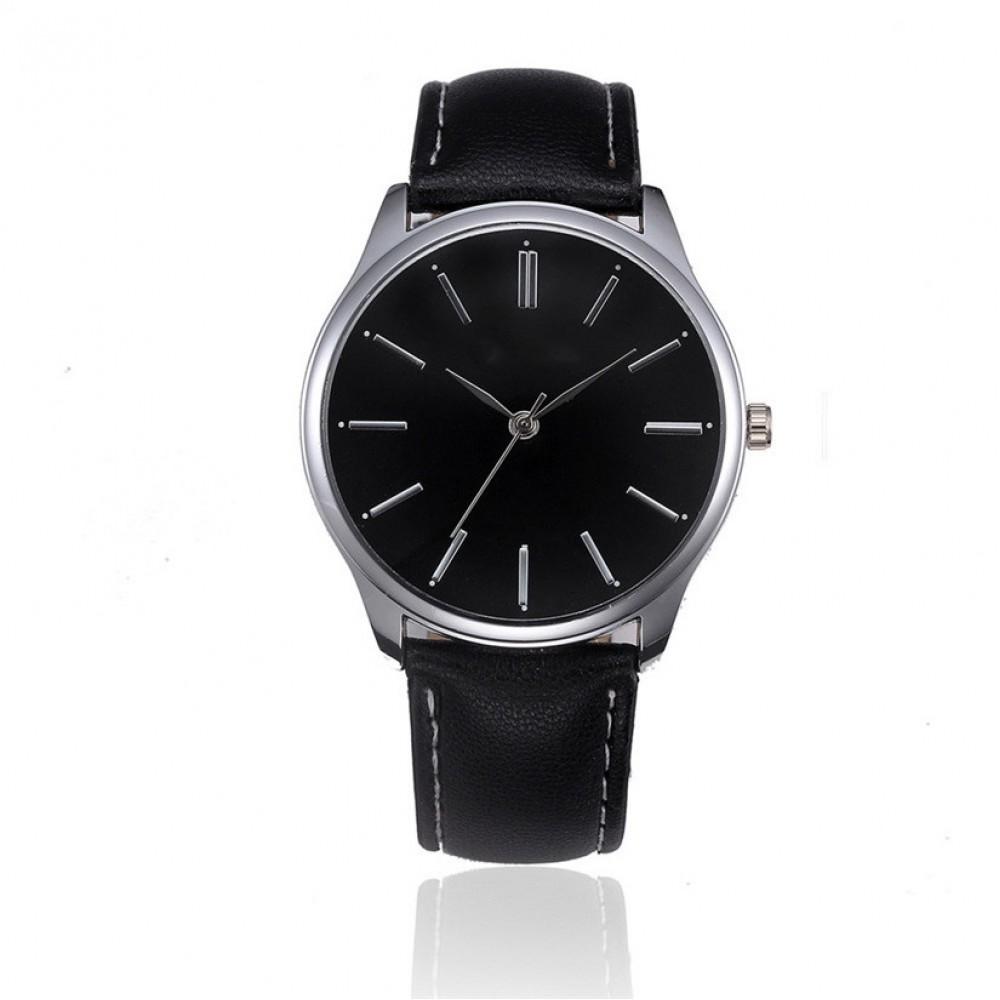 Leatheroid Quartz Movement Wrist Watches 21