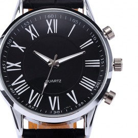 Luxury Fashion Men's Leather Wrist Watch 224