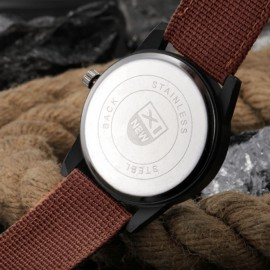 Auto Date Display Military Canvas Wrist Watch 172