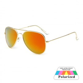 Gold HD Polarized Boys Girls Goggles Sunglasses 87